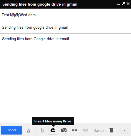 How to send files upto 10GB in Gmail using Google Drive