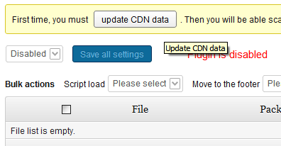 Update CDN data in jsDelivr plugin