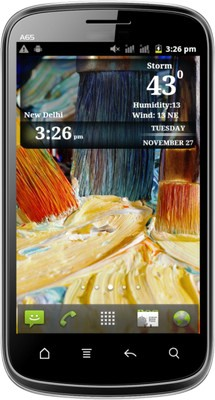 Micromax A65 Smarty 4.3 inch Screen, 1GHz, 512 MB RAM Price in India