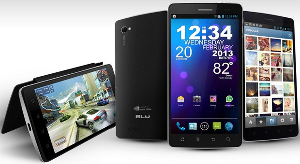 BLU Launches New Android Smartphone - Quattro Series NVIDIA Tegra 3 Announced