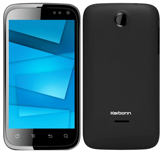 Karbonn A15 Mobile, 4.0 inch screen with 3.0 MP Camera and Android 4.0 ICS Announced