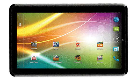 Micromax First 3G Tablet Comes into Market - Micromax Funbook 3G P600 Launched Under 10,000