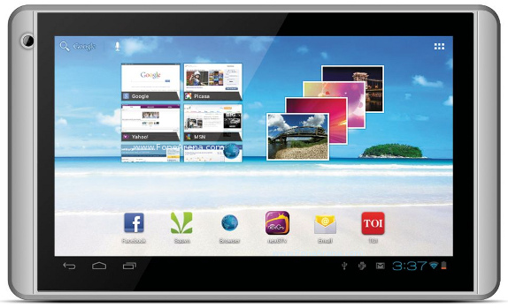 Videocon VT71 Tablet, 7.0 inch, Android 4.0 ICS, 4GB Internal Memory Price in India