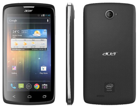Acer Liquid C1 with Intel Processor, 4.3 inch qHD IPS Display and 8.0 MP Launched - 2013