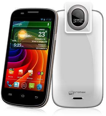 Micromax A89 Ninja, 4.0 inch Screen, Android 4.0 ICS, 1GHx Dual Core Processor Price in India