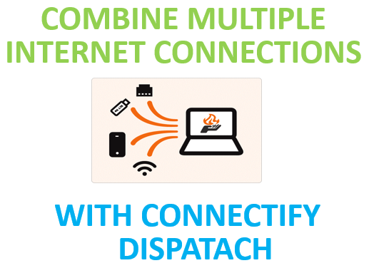 Combine multiple internet connections