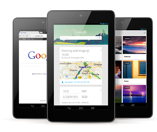 Google Nexus 7 Tablet Available in India