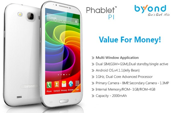 Byond Phablet PI Features