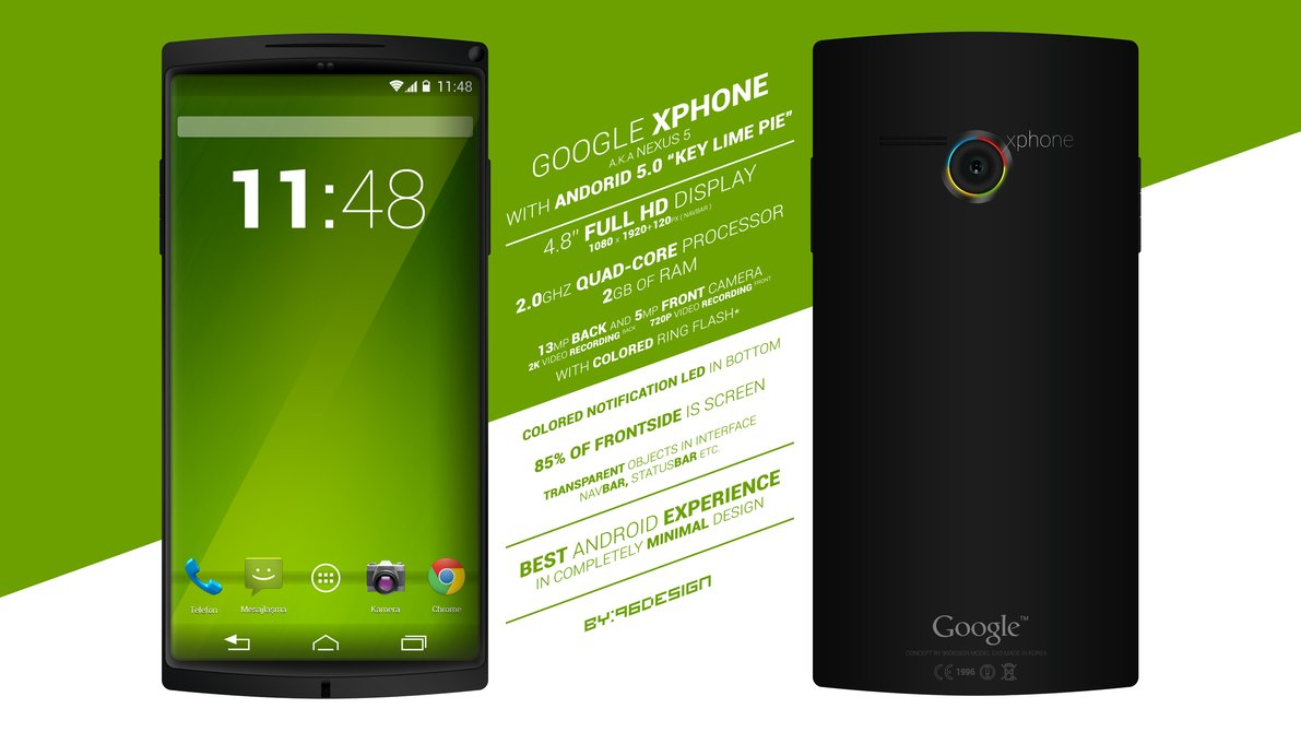 Google Xphone concept by Deviantart