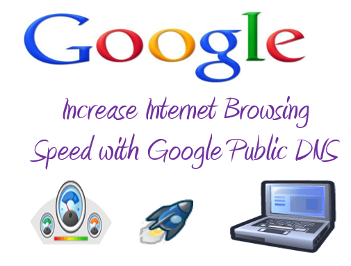 Increase Internet Browsing Speed with Google Public DNS