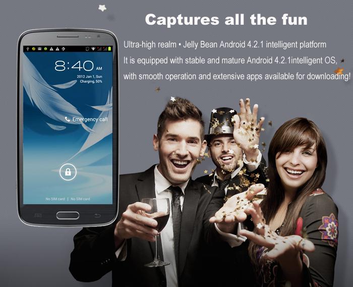 Samsung Galaxy S4 Clone Mobile