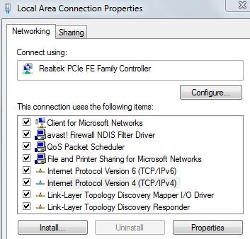 level3 ipv6 dns servers
