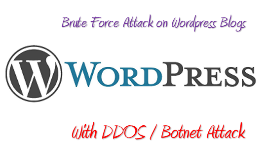 Brute Force Attack against WordPress Blogs