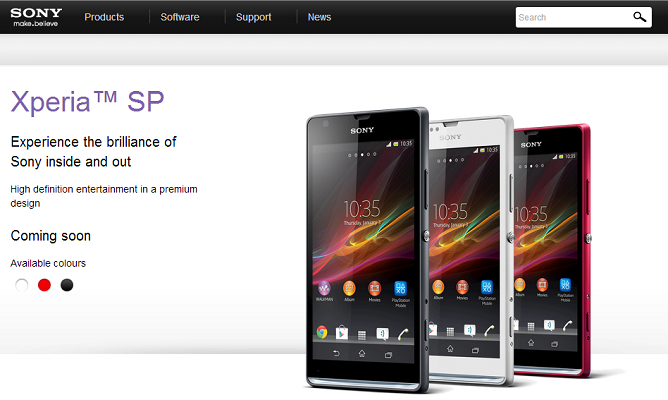 Sony Xperia SP Smartphone Features and Reviews