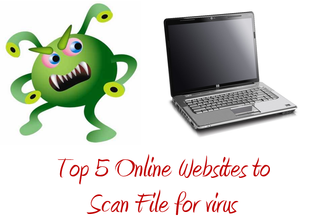 Top 5 Online Websites to Scan File for virus