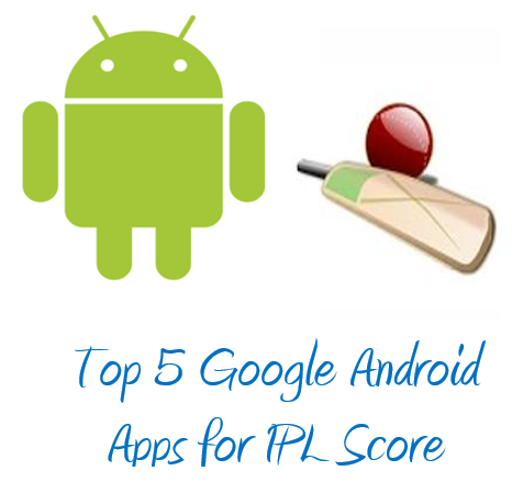 Top Google Android Apps for IPL Score