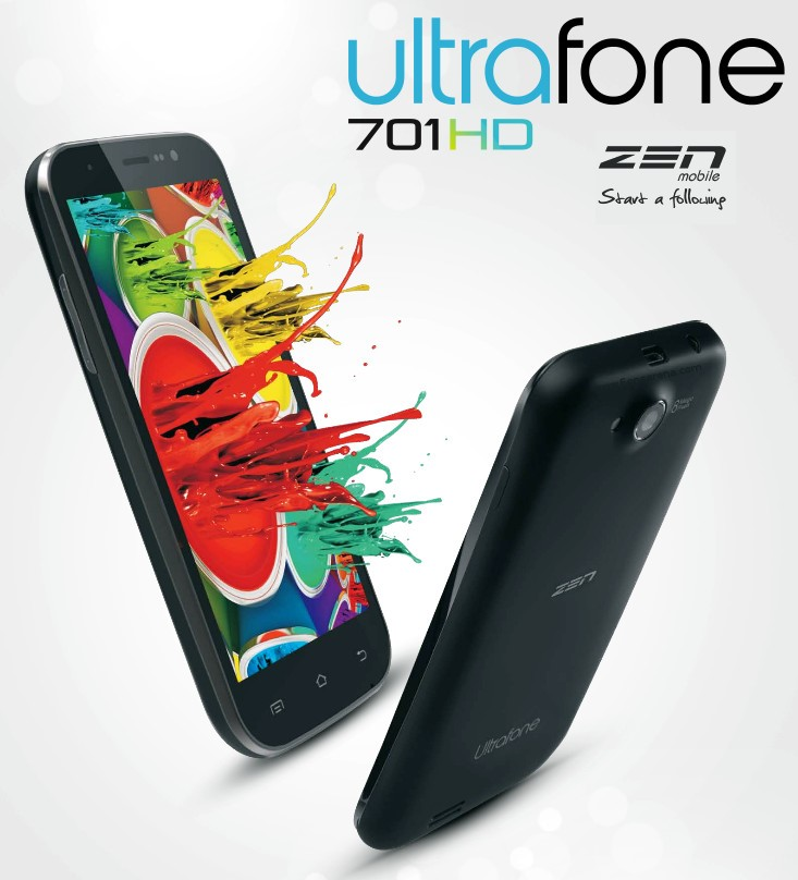 Zen Ultrafone 701 HD Mobile