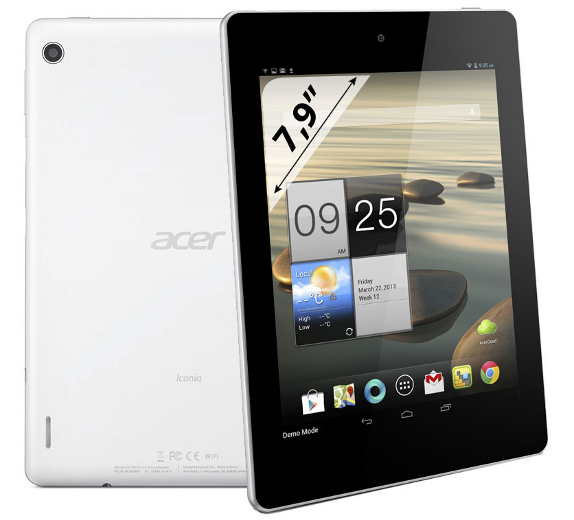 Acer Iconia A1 Tablet Features and Specifications