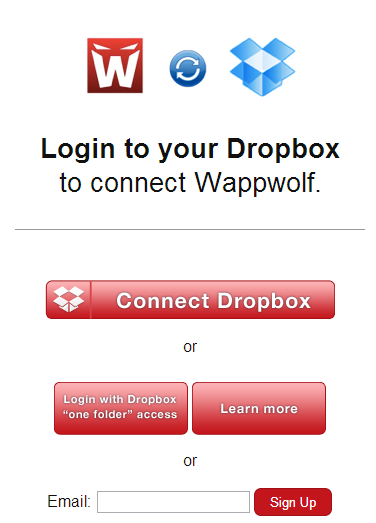 Dropbox for Word to PDF Converter