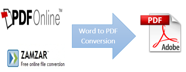 Top 5 Online Word to PDF Converter