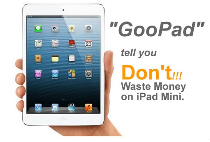 iPad Mini Clone Tablet – GooPad Mini