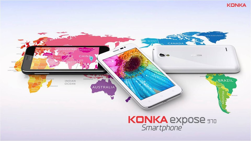 Konka Expose 970 Smartphone Features and Specifications