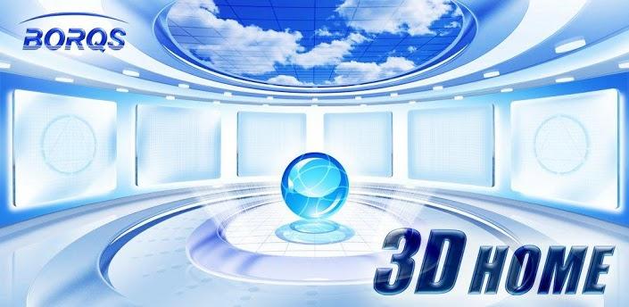 3D Home Launcher