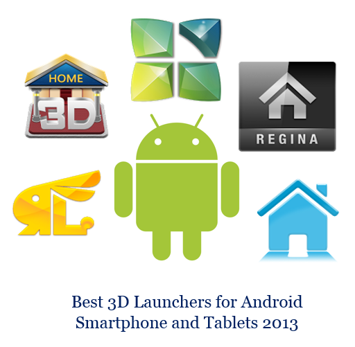 Best 3D Launchers for Android Smartphone and Tablets 2013
