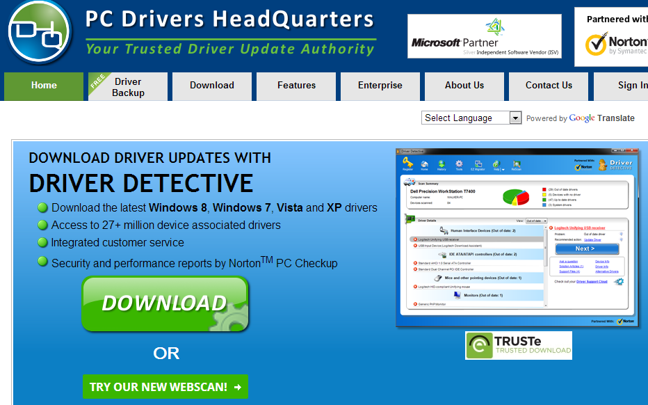 Driver Detective Tool to update Drivers on Windows