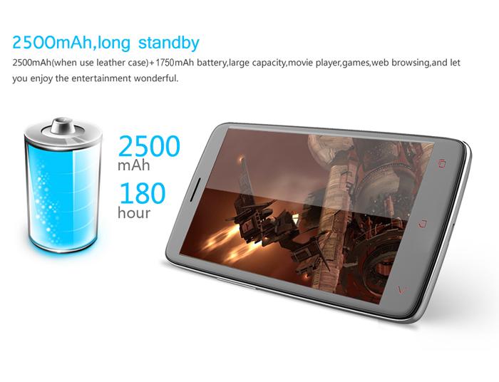 Orient iNew i4000 Battery Capacity