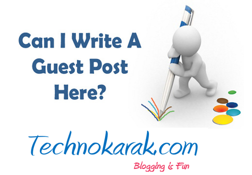 Guest Posting at Technokarak.com