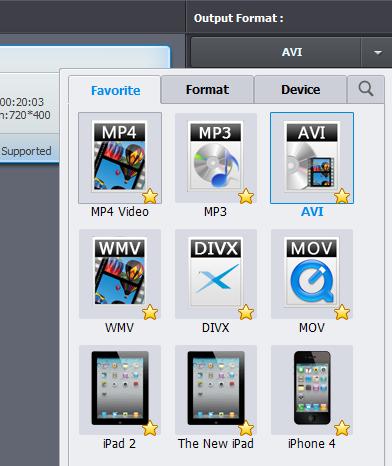 Wondershare Video Converter Ultimate Formats
