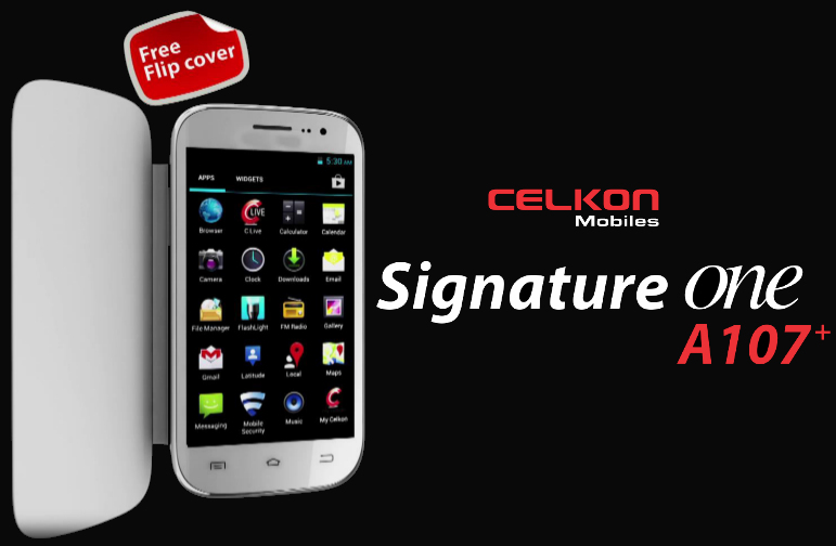 Celkon A107+ Smartphone Price in India