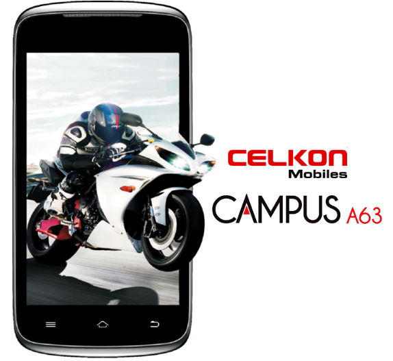 Celkon Campus A63 Smartphone Price in India