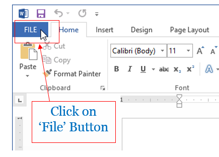 Change Auto save Timing in Word