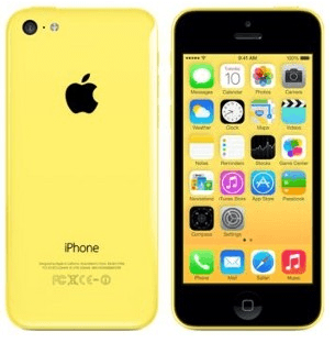 Comparison between iPhone 5c and iPhone 5s