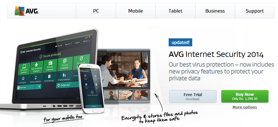 Download AVG Antivirus Free