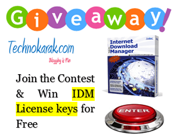 Giveaway for IDM Download Manager