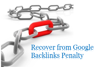 Recover your Blog from Google unnatural backlinks penalty