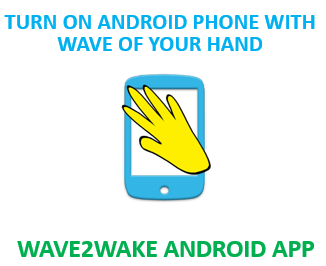 Wave2Wake Android App to start mobile
