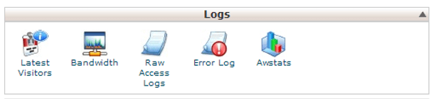web server log file