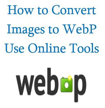 WebP - Compressed Image Format