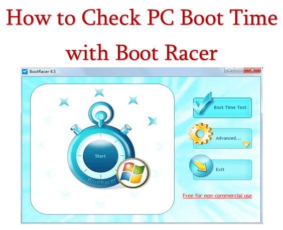 How to Check PC Boot Time with Boot Racer