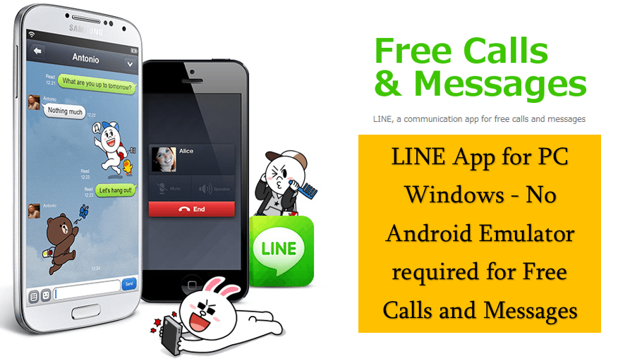 LINE App for PC Windows