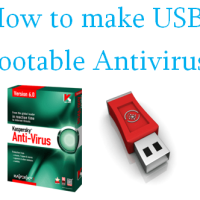 How to make USB Bootable Antivirus