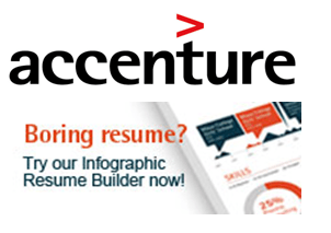 Build Resume with Accenture Infographic Resume Builder to get ...