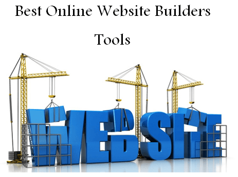 Online Website Builders Tools