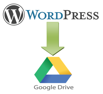 Wordpress Backup on Google Drive