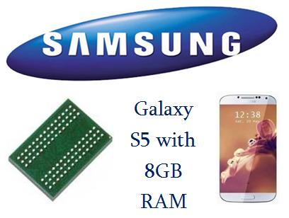 Galaxy S5 with 8GB RAM