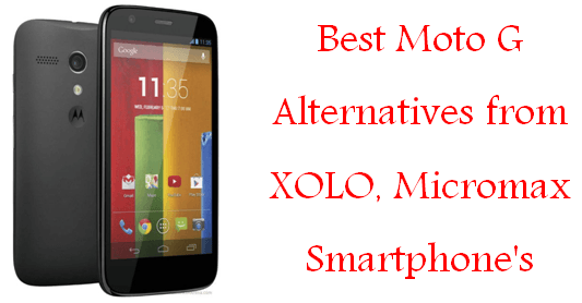 Best Moto G Alternatives